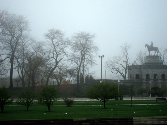 Lincoln Park in spring