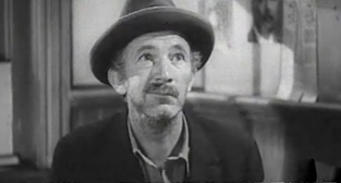 "Walter Brennan in Frank Capra's 1941 film, ""Meet John Doe"""