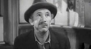 "Walter Brennan in Frank Capra's 1941 film, ""Meet John Doe"""