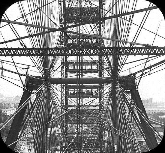 The First Ferris Wheel, Chicago, 1893; photograph by Starks W. Lewis (Courtesy Brooklyn Museum via the Commons on Flickr)