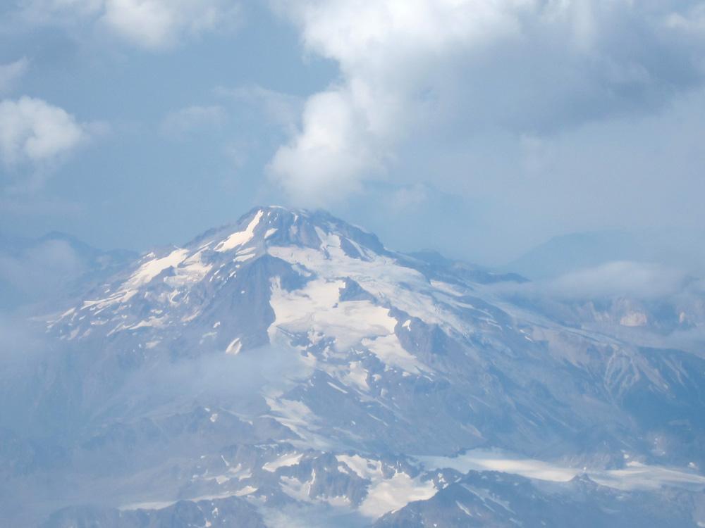 Glacier Peak (aerial view), © 2015 Susan Barsy