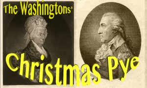 The Washingtons' Christmas Pye (widget)
