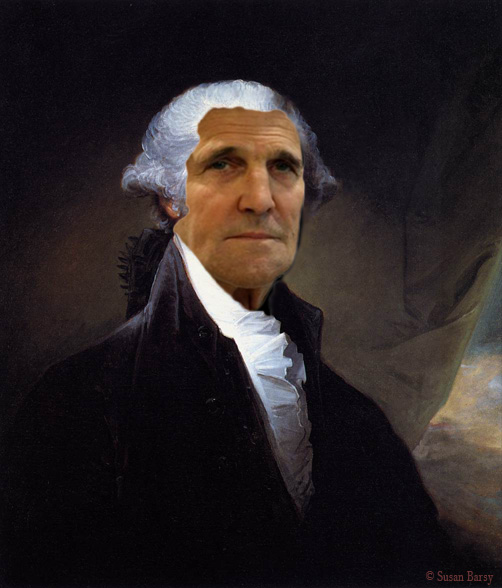 John Kerry 1795, after Gilbert Stuart © 2013 Susan Barsy