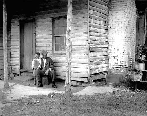 E B Thompson at River Farm (Courtesy of the National Park Service Historic Photograph Collection)