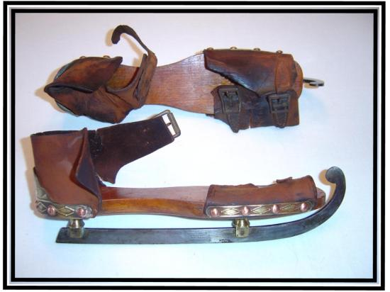 "American ice skates (1840-60), from the website ""Skating ahead of the Curve"""