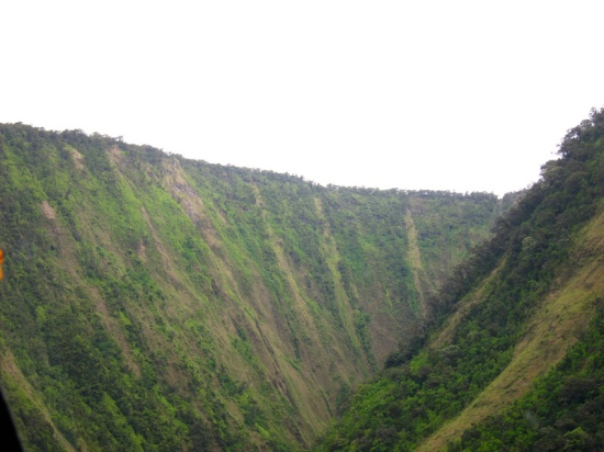 Narrow sea valley, North Kohala, Hawaii, © 2015 Susan Barsy