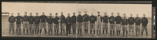 Massillon Tigers, 1905 (Courtesy of the Library of Congress)