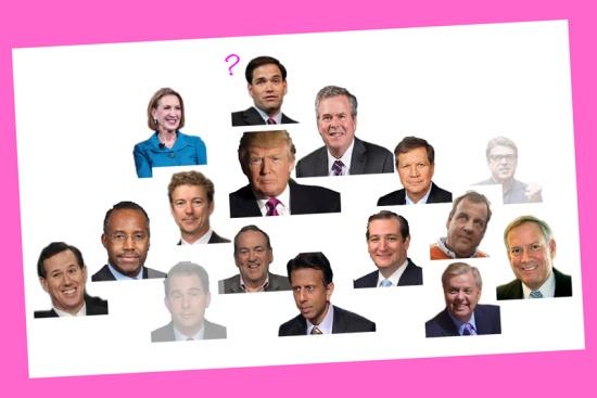 The GOP heap (after Scott Walker), © 2015 Susan Barsy