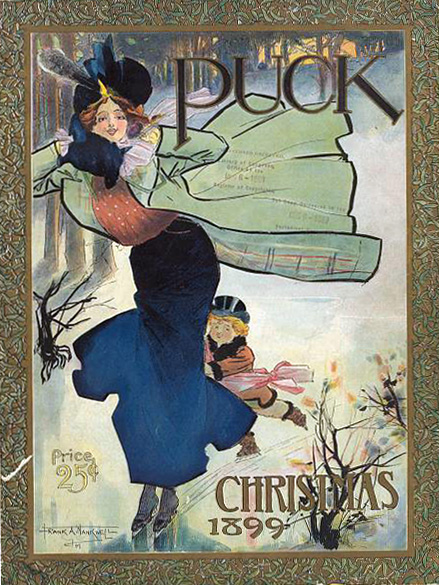 Puck Christmas 1899 (Courtesy Library of Congress)